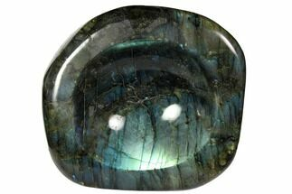 "Buy 5.2"" Polished, Flashy Labradorite Dish - Madagascar - #117256"