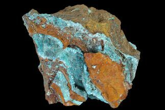 "2.3"" Fibrous Rosasite & Aurichalcite Crystal Association - Mexico For Sale, #119216"