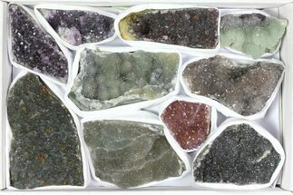 Quartz var. Amethyst - Fossils For Sale - #119334