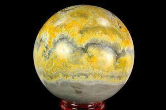"Buy 2.55"" Polished Bumblebee Jasper Sphere - Indonesia - #121240"