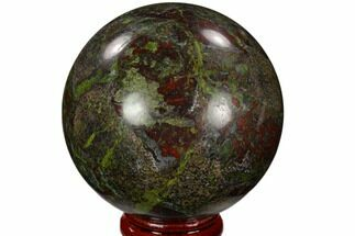 "Buy 2.4"" Polished Dragon's Blood Jasper Sphere - South Africa - #121579"