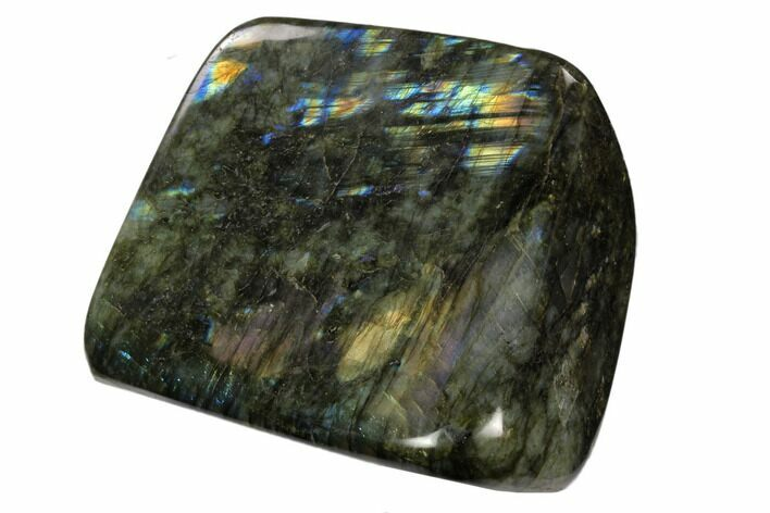 "4.8"" Flashy Polished Labradorite Free Form - Madagascar"