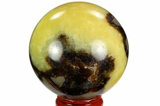 "Buy 2.3"" Polished Septarian Sphere - Madagascar - #122908"