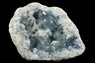 "8.6"" Sky Blue Celestine (Celestite) Geode - Madagascar For Sale, #124208"