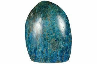 "5.5"" Free-Standing, Polished Blue Apatite - Madagascar For Sale, #124403"