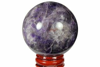 "Buy 2.15"" Polished Chevron Amethyst Sphere - #124492"