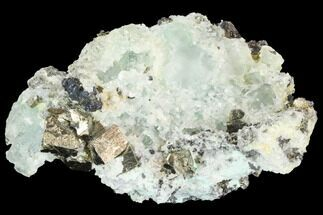 "Buy 3"" Green Fluorite, Sphalerite and Pyrite - Peru - #126586"