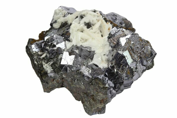 "2.3"" Galena and Barite Crystal Cluster - Peru"