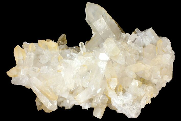 "Large, 17.5"" Wide Quartz Crystal Cluster - Brazil"