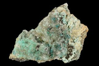Aurichalcite, Rosasite & Calcite - Fossils For Sale - #127185