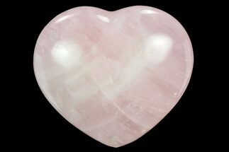 "Buy 3.05"" Polished Rose Quartz Heart - Madagascar - #129019"