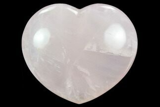 "Buy 4.2"" Polished Rose Quartz Heart - Madagascar - #129025"