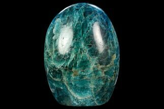 "Buy 4.2"" Free-Standing, Polished Blue Apatite - Madagascar - #127885"