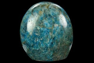 "3.9"" Free-Standing, Polished Blue Apatite - Madagascar For Sale, #127886"