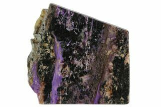 "3.3"" Purple Polished Charoite Slab - Siberia For Sale, #129080"