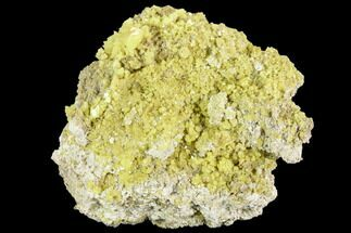 "Buy 3.35"" Sulfur Crystal Cluster - Steamboat Springs, Nevada - #129751"
