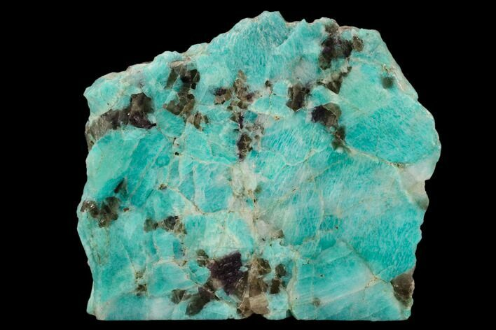 "6.7"" Wide, Polished Amazonite Section - Madagascar"