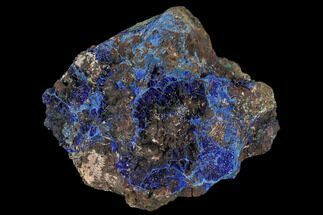"Buy 2.6"" Sparkling Azurite and Malachite Crystal Cluster - Morocco - #128164"