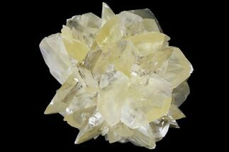 "Buy 2.45"" Twinned Selenite Crystals (Fluorescent) - Red River Floodway - #130285"
