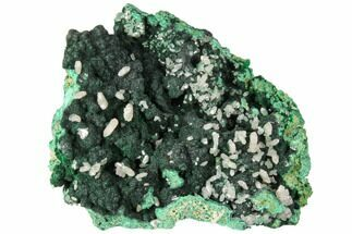 Cerussite & Malachite - Fossils For Sale - #130491