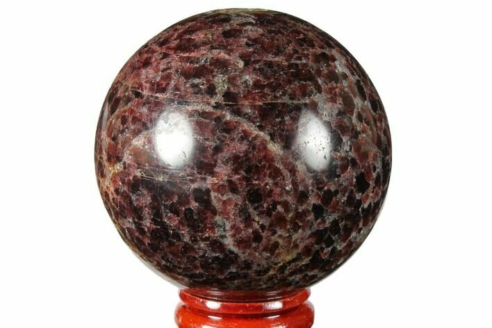 "2.3"" Polished Garnetite Sphere - Madagascar"