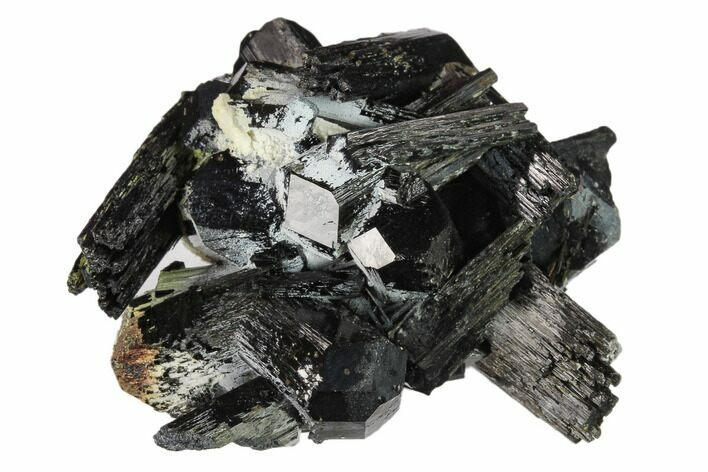 "1.9"" Black Tourmaline (Schorl) Crystals with Orthoclase - Namibia"