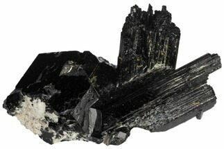 Tourmaline var. Schorl - Fossils For Sale - #132180