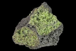 "3.8"" Peridot in Basalt - Arizona For Sale, #132293"