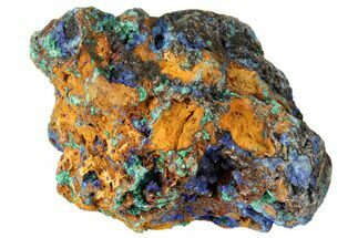 Malachite & Azurite - Fossils For Sale - #132744