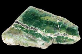 "4.8"" Polished Green-White Opal Slab - Western Australia For Sale, #132923"