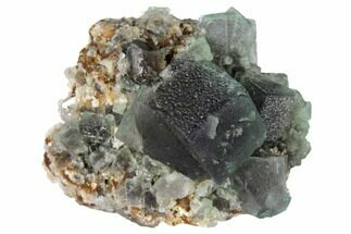 "Buy 1.9"" Purple/Green Fluorite Crystal Cluster -  Rogerley Mine - #132976"