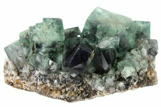 "2"" Fluorite Crystal Cluster -  Rogerley Mine For Sale, #132980"