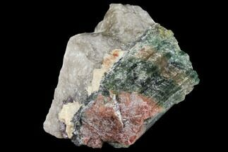 Rainbow Tourmaline (Elbaite) in Quartz - Leduc Mine, Quebec For Sale, #133010