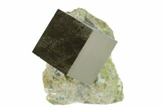 ".6"" Pyrite Cube In Matrix - Navajun, Spain For Sale, #132857"