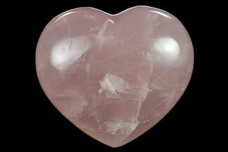 Quartz var. Rose Quartz - Fossils For Sale - #134793