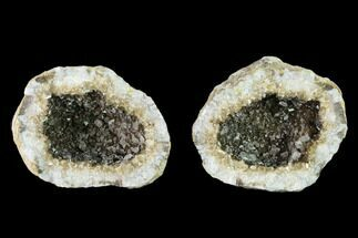"Buy 2.25"" Keokuk Geode with Calcite Crystals - Missouri - #135007"