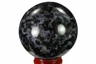 "Buy 2.2"" Polished, Indigo Gabbro Sphere - Madagascar - #135781"