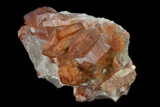 "3"" Natural Red Quartz Crystal Cluster - Morocco For Sale, #135692"