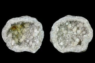 "Buy 3.1"" Keokuk Geode with Calcite Crystals - Missouri - #135664"