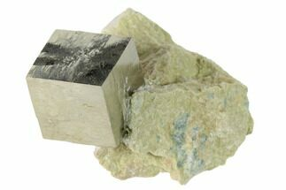 "Buy .64"" Pyrite Cube In Matrix - Navajun, Spain - #136729"