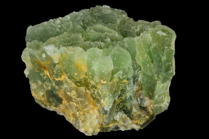 "3.1"" Stepped, Green Fluorite Formation - Fluorescent"