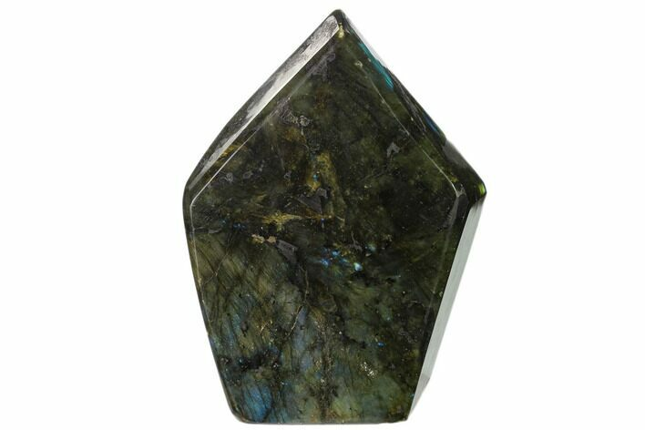 "7.8"" Flashy Polished Labradorite Free Form - Madagascar"