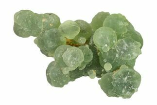"3.5"" Botryoidal Prehnite with Epidote Inclusions - Mali, Africa For Sale, #137318"