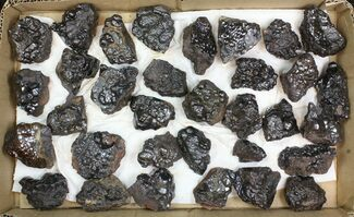 Wholesale Lot: Kidney Ore (Botryoidal Hematite) - 33 Pieces For Sale, #138056