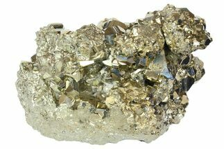 "4.6"" Pyrite Crystal Cluster with Sphalerite & Quartz Dusting - Peru For Sale, #138158"