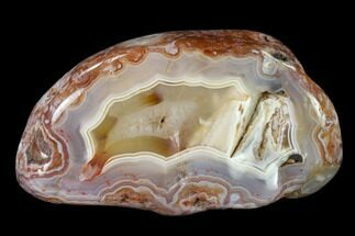 "2.8"" Polished Banded Agate - Karouchen, Morocco For Sale, #139637"