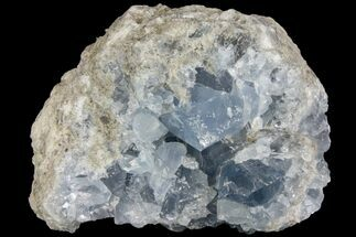 "3.6"" Sky Blue Celestine (Celestite) Crystal Cluster - Madagascar For Sale, #139412"