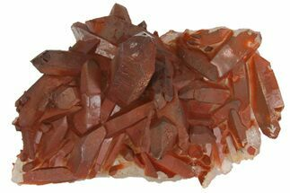 "Buy 2.4"" Natural Red Quartz Crystal Cluster - Morocco - #139768"