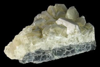 "3.3"" Calcite Crystal Cluster on Green Fluorite - China For Sale, #142379"