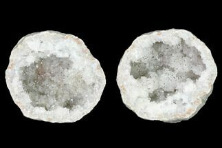 "3.7"" Keokuk Quartz Geode - Iowa For Sale, #144719"